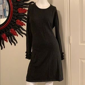 Calvin Klein gray sweater dress